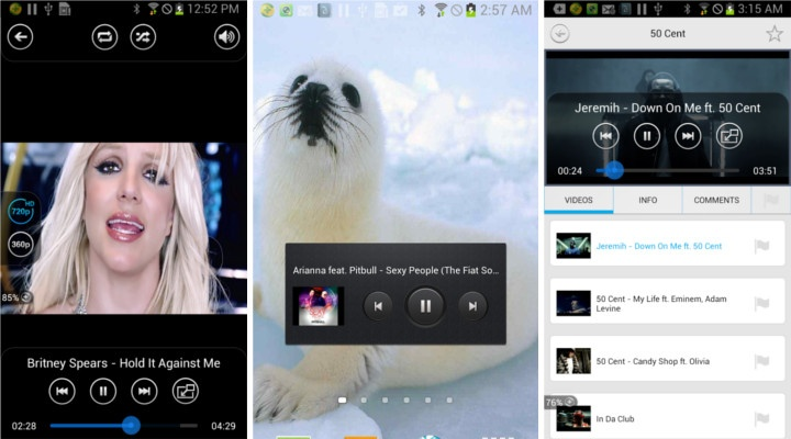 Music Tube Android