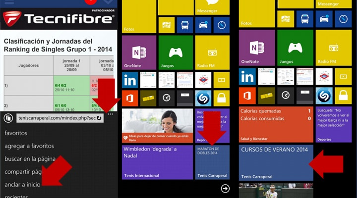 crear live tile Windows Phone